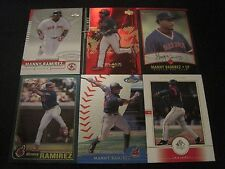 Lot of 30 Different Manny Ramirez SP EXL Topps Finest & Chrome BlackDiamond LotA