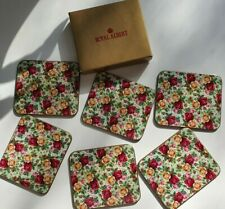 Royal Albert Old Country Roses 6 Coasters in Original Box