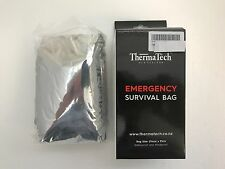NEW Thermatech Emergency survival sleeping bag 91 x 214 cm lightweight & compact