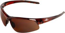 Bullhead Safety Sunglasses Ballistic Rated Matte Brown Frame Precision Brown Len