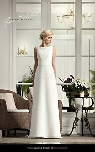 Papa Michel Kasma Ivory Wedding Dress size 22 new