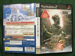PS2 MONSTER HUNTER 2 dos NTSC-J 2006 TESTED WORLD FREE POST