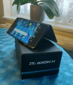 ZTE AXON M dual screen andriod 64gb 2g only uk plz read