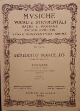 MARCELLO - 12 SONATE OP 2 - VOLUME 2 - PER FLAUTO E PIANO -  ed DE SANTIS