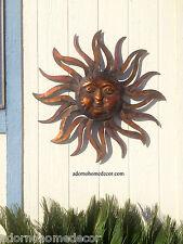 Large Metal Sun Wall Decor Rustic Garden Art Indoor Outdoor Patio Wall Sculpture