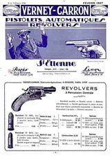 Verney-Carron 1927 Pistolets Catalogue