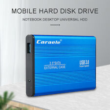 "Portable 2TB USB 3.0 External Mobile Hard Disk Drive HDD Box 2.5"" SATA for PC"