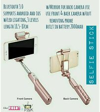 premium bluetooth & led selfie stick