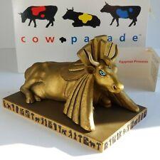 Cow Parade EGYPTIAN PRINCESS 9140 RETIRED 2001 Cows NIB Hang Tag