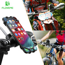 Silicone Motorcycle Bike Bicycle Phone Holder Handlebar Mount For iPhone Samsung