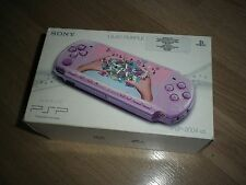 CONSOLA SONY PLAYSTATION PORTABLE LILAC PURPLE PSP-3004 XZL  NUEVA NEW NEUF PAL
