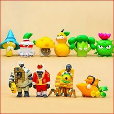 10 Plants vs Zombies Action Figures Kids Figurines Set Toy Cake Topper Car Decor