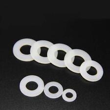Nylon Flat Washers M3 M4 M6 M8 Plastic Nylon Flat Washers Insulation Gaskets