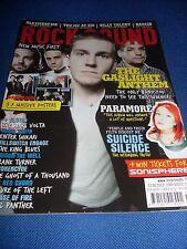 Rock Sound Magazine - Issue 124 July 2009 - The Gaslight Anthem