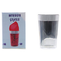 Mirror Glass Magic Tricks New Liquid To Silk Appearing Props Stage Magic Com Cw