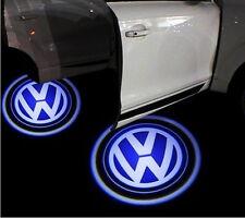2x VW Volkswagen Laser LED Door Puddle Courtesy Projector Lights Golf Passat Eon