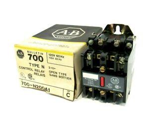 NEW ALLEN BRADLEY 700-N200A1 CONTROL RELAY SER.C 700N200A1
