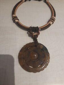 "Jade ladies Necklace vintage 2"" jewellery"