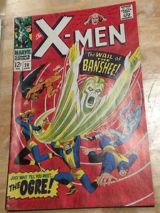 X-Men #28 2nd Print STRIDEX Variant Very Rare! 1st app of Banshee! 1994