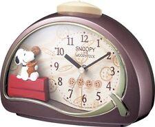 PEANUT Snoopy Alarm Clock R506 4SE506MJ09 From Japan