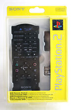 OFFICIAL SONY PLAYSTATION 2 PS2 DVD REMOTE CONTROL GENUINE NEW MISB !