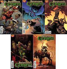 PATHFINDER GOBLINS (5) Issue Subscription Variant Comic SET #1 2 3 4 5 1st print
