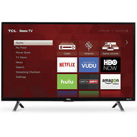 TCL 32-Inch 720p 60Hz Roku Smart LED HDTV with 3 x HDMI (2017 Model) | 32S305