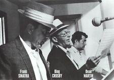 FRANK SINATRA ~ BING CROSBY DEAN MARTIN IN STUDIO 24x34 Music Rat Pack