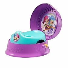 Shimmer & Shine Potty-Training 3-in-1 Seat Chair Stool System w/ Handle & Sounds