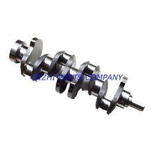 Fit Isuzu 4JB1 Non-Turbo Crankshaft,Mustang Bobcat 843 853 1213 960 2060 Loader