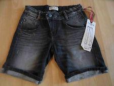 CHIPIE coole Jeans Shorts schwarz used look PURE Gr. 10 J NEU  KJ1