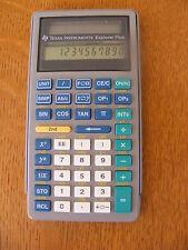 Texas Instruments scientific calculator  Explorer Plus solar