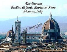 Italy - Florence - DUOMO Basilica di St Maria del Fiore - Flexible Fridge Magnet