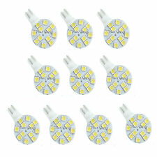 10X T10 194 921 W5W 12 SMD 5050 LED Warm White RV Landscaping Light Lamp Bulb al