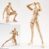 SHF S.H. Figuarts Body kun Man Male Pale orange Color Action Figure 13cm No Box