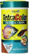 5x Tetra TetraColour Tropical Crisps Fish Food 78g special less then half price