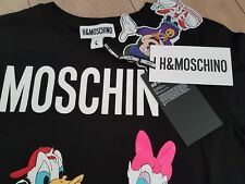 MOSCHINO TV H&M WOMEN'S PRINTED T-SHIRT  DONALD DUCK size L SOLD OUT