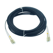 100M SC-SC MM MultiMode Duplex Outdoor Field Fiber Optical Patch Cord DHL Free