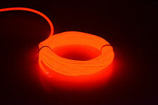 5M EL Wire LED Flexible Neon Glow Car Party Light with 12V Controller