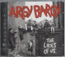 ARGY BARGY - THE LIKES OF US - (still sealed cd) - AHOY CD 303