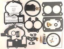 Mercarb Mercruiser Marine 2 Barrel Carburetor Repair Kit w/ FLOAT 3302-804844002