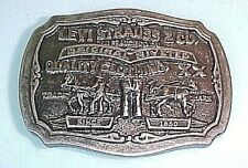 Levi Strauss & Co Two Horse Brand Limited Edition Belt Buckle LEVI'S LIMITED EDT
