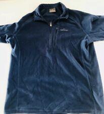 kathmandu mens polar fleece Royal Navy Blue Size L(W23in L27in) Pullover Jumper