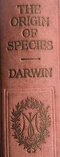 Rare Antique Book 1910 CHARLES DARWIN The Origin Of Species John Murray