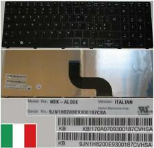 CLAVIER QWERTY IT ACER Aspire 5750, 5750G, 5750ZG, 7551, 7551G Glossy