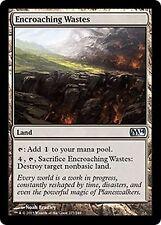 4X Encroaching Wastes - NM - M14 Magic 2014 MTG Magic Land Uncommon
