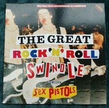 SEX PISTOLS**THE GREAT ROCK 'N' ROLL SWINDLE**JAPAN LASERDISC WITH INSERT