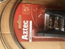 Road bike Brake Pad and Cable kit. Aztec pads, stainless cables