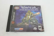 Unreal Tournament (Sega Dreamcast, 2001) w/ Instructions & Case Tested & Working