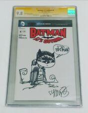SKOTTIE YOUNG RARE DC ORIGINAL SKETCH VARIANT CGC SS 9.8 Batman Li'l Gotham #4